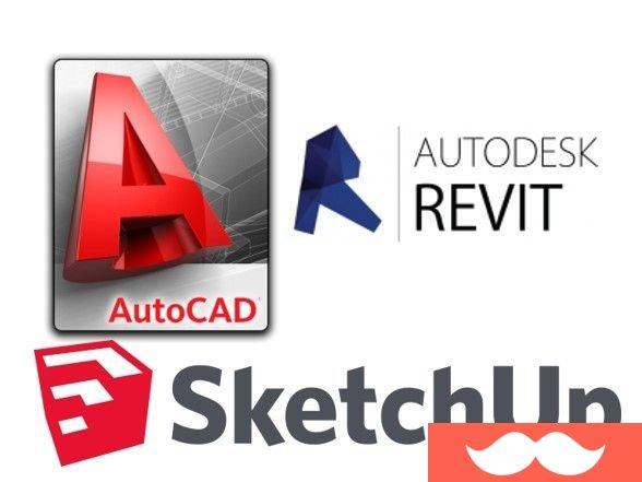 Don venta clases de autocad sketchup vray revit for Programas de arquitectura y diseno