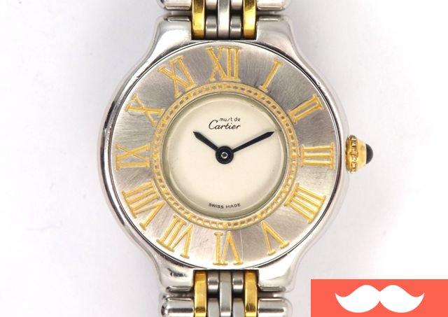 5a3fad23fa00 JCR vende Reloj CARTIER CARTIER MUST Siglo 21