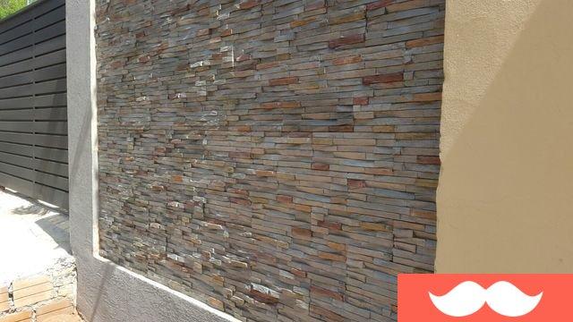 Don venta revestimiento simil de piedra laja varios colores interior y exterior - Revestimiento exterior piedra ...