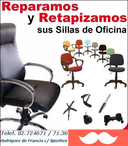 Don Venta | REPARACION SILLAS OFICINA!!